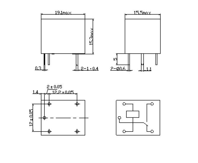>> 松乐继电器   名称:srd-24vdc-sl-c 描述:t73,5脚,7a
